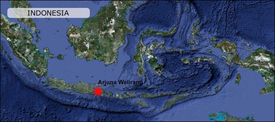 Arjuna-Welirang-volcano-map