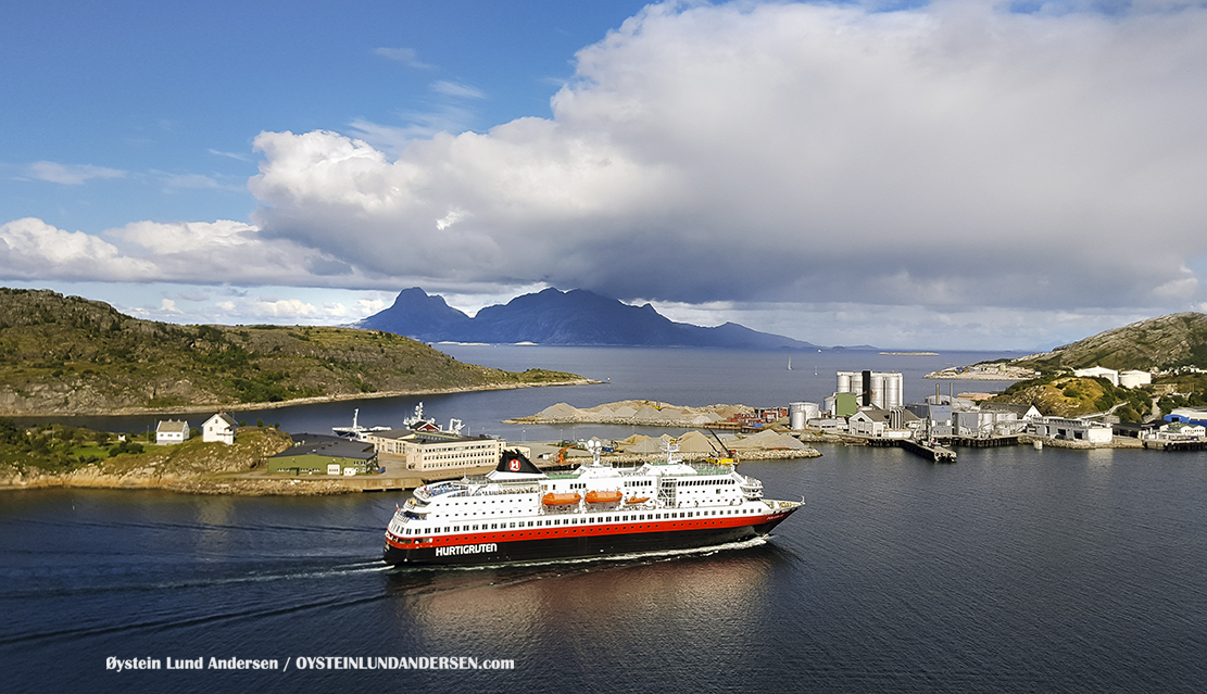 Hurtigruta Landegode Bodø Bodoe Norway Øystein Lund Andersen 2016