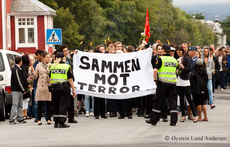 Bodø Sammen mot terror 2011 ABB