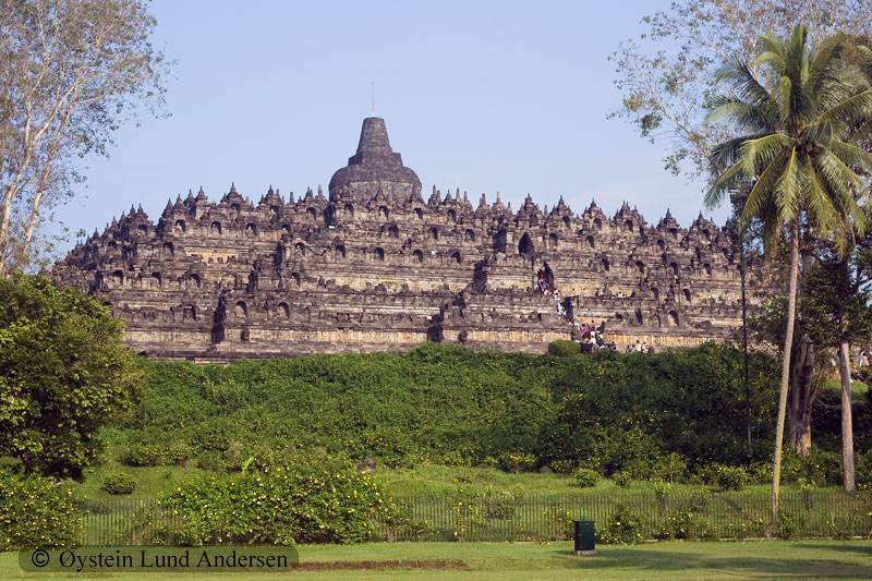 The temple seen from a distance.