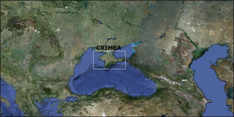 Crimea map Ukraine