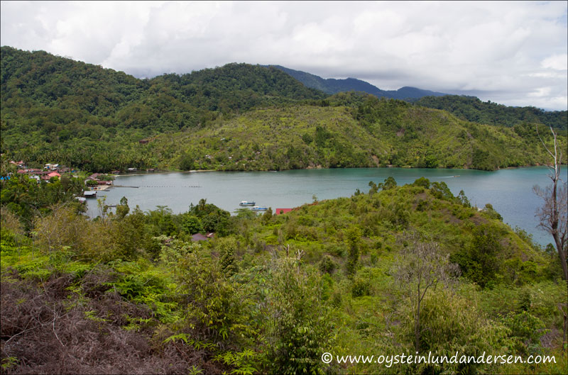 The village of Depapre. Americans used Depapre as a entry point to Jayapura during WW2. (14March 2012)