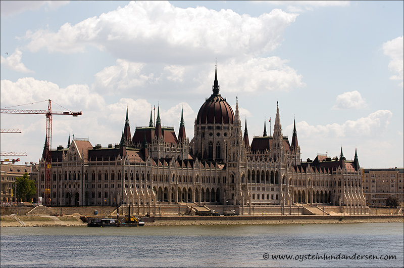 1. The Parliament, built in Neo-Gothic style and located on the bank of the Danube.