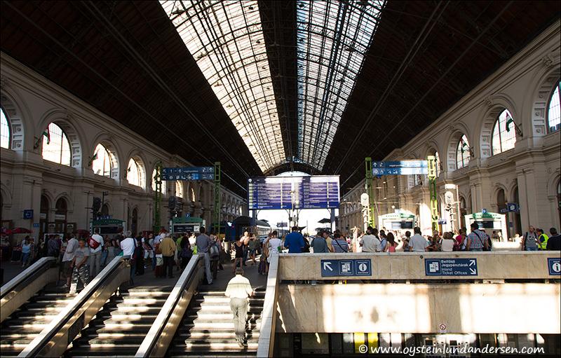 5. Budapest Keleti train station.