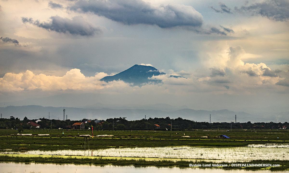 Slamet volcano, Central Java, Indonesia, December 2016