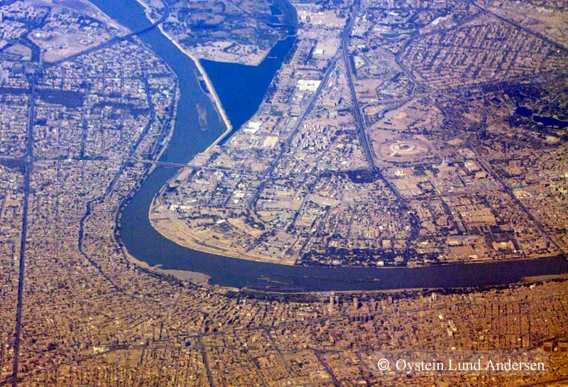Baghdad Aerial Photography Airplane