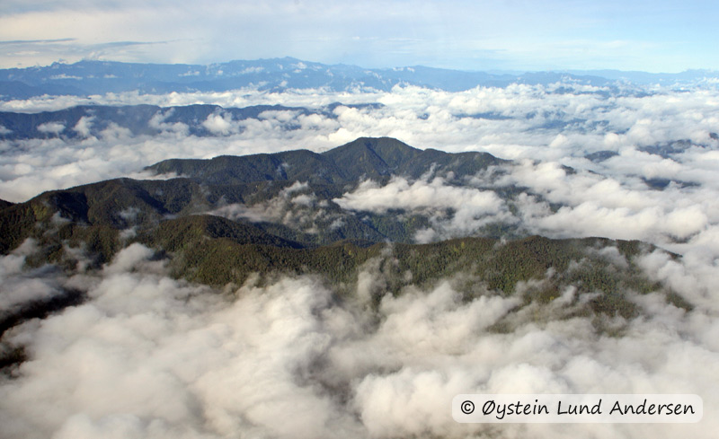 The Star mountains (on a flight from Sentani to Nongme)