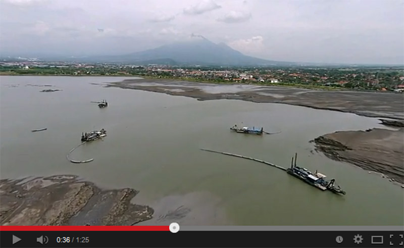 LUSI-mudvolcano-video-2014