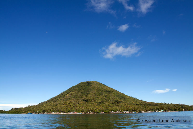 Maitara Island outside Tidore.