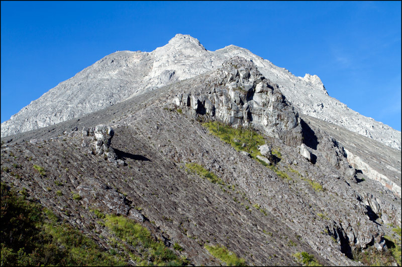 20. The western side of Merapi.