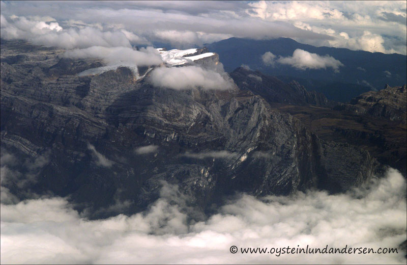 Puncak Jaya Glacier. (November 2004)