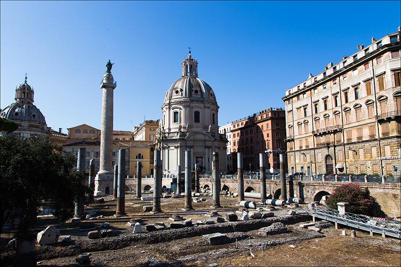 12. Trajan's Forum.