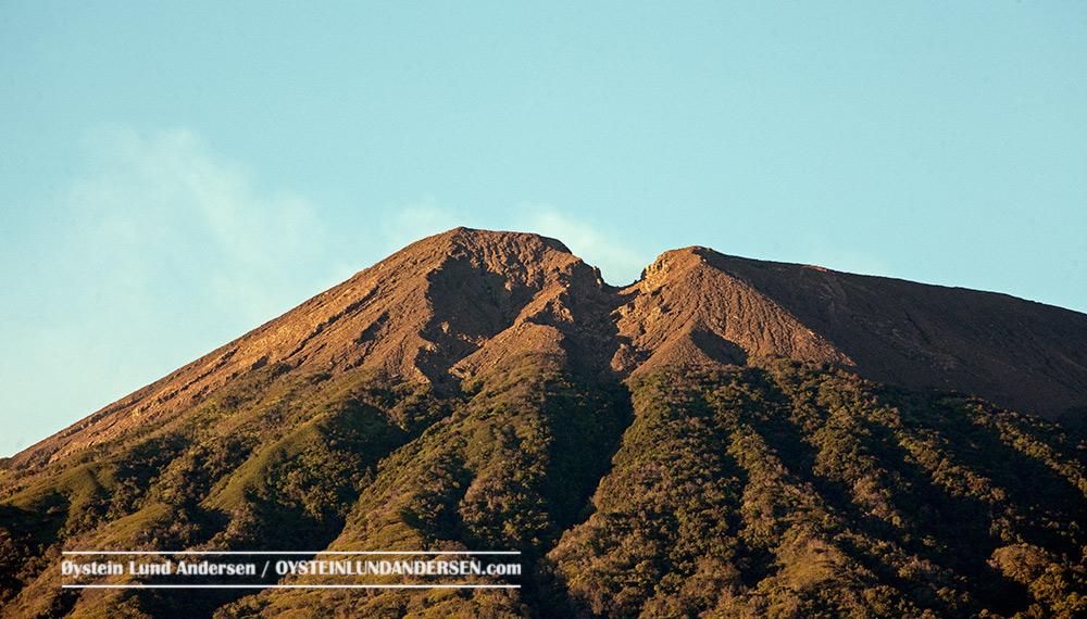Slamet volcano july 2015 indonesia
