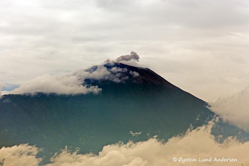 Small eruption