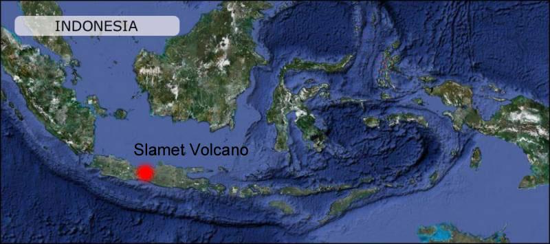Slamet-volcano-map
