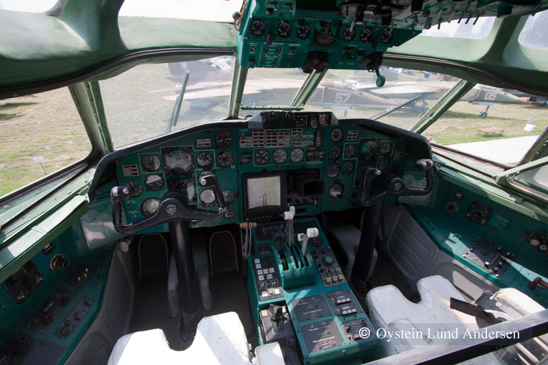 tu-154 cocpit kiev ukraine