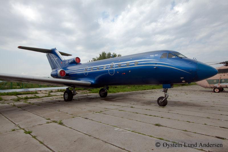 Yakolev Yak-40 Kiev Ukraine
