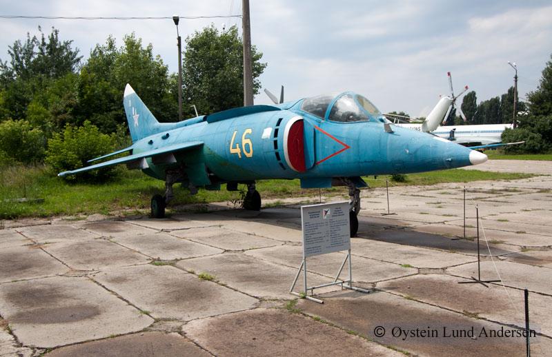 Yakovlev Yak-38 Kiev Ukraine