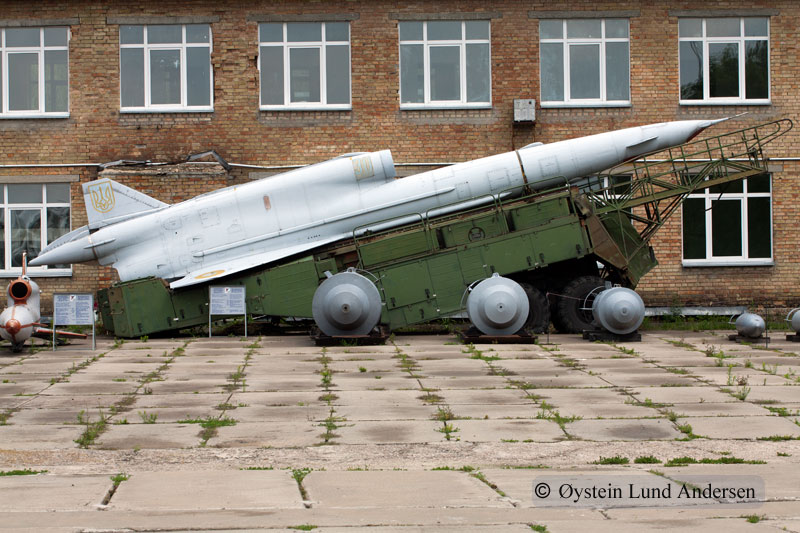 An fierce sovjet missile