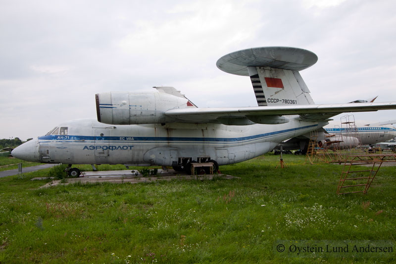 Antonov An-71 ukraine kiev