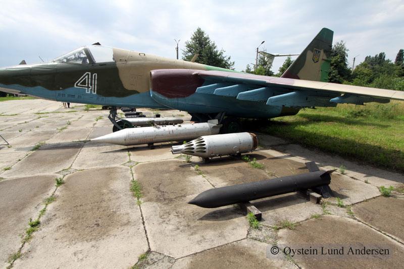 Sukhoi Su-25 Kiev Ukraine