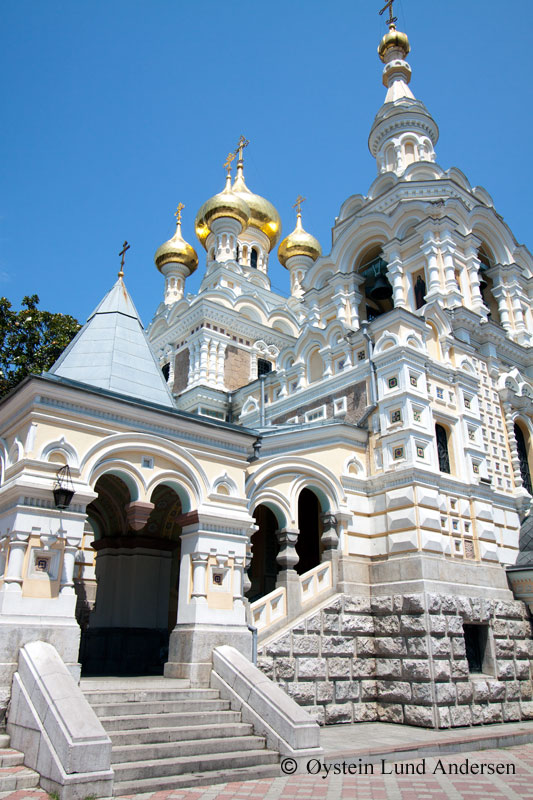 Alexander Nevski Church, Yalta.