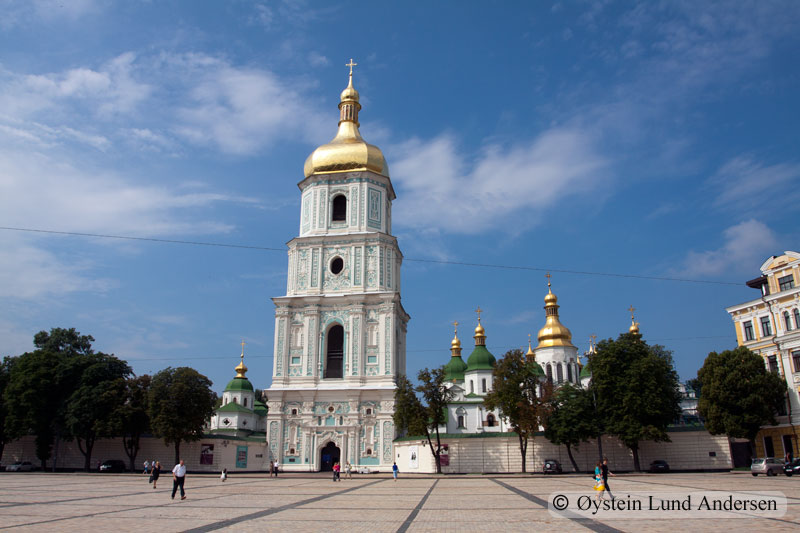 Kiev, sofiivska church.