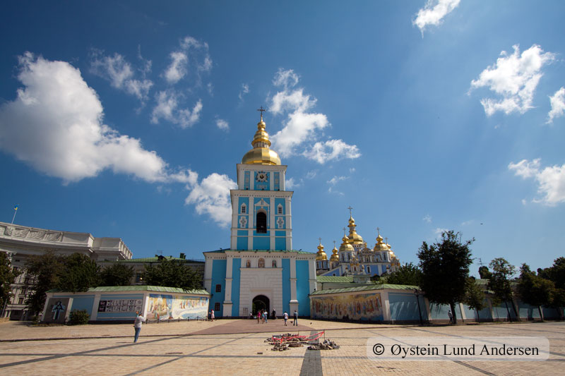 St. Michael's Golden-Domed Monastery.