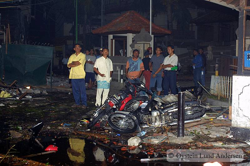 October 2012 Bali Indonesia Bomb Terrorism
