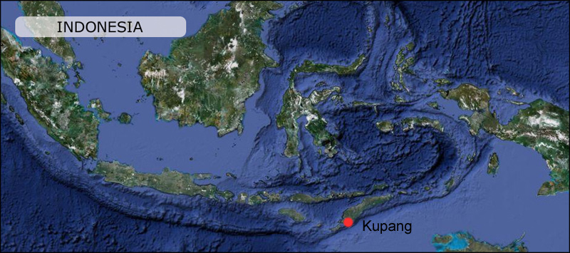 Kupang Map