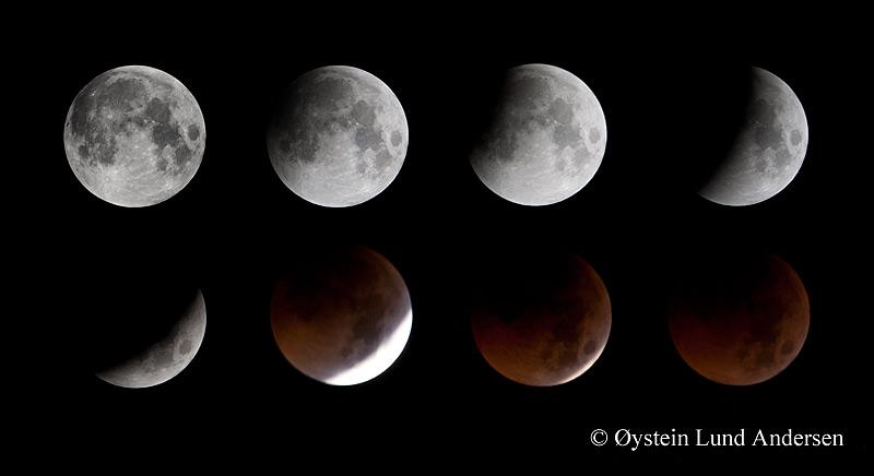 Lunar eclipse 2011 Jakarta Indonesia