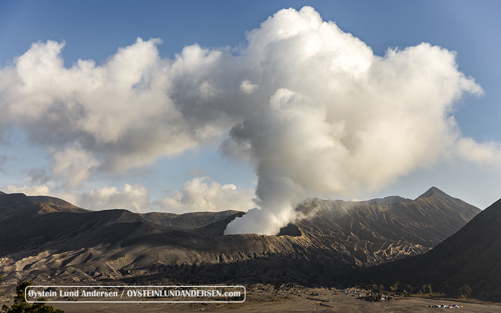 Bromo Tengger Volcano Indonesia July 2015