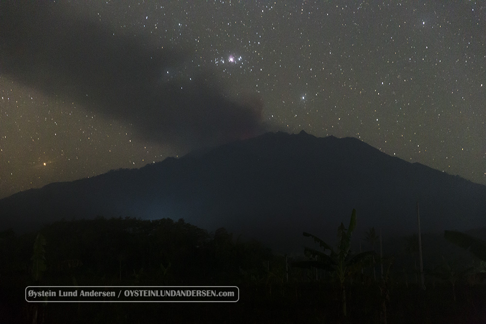 Raung Volcano Indonesia July 2015 Eruption