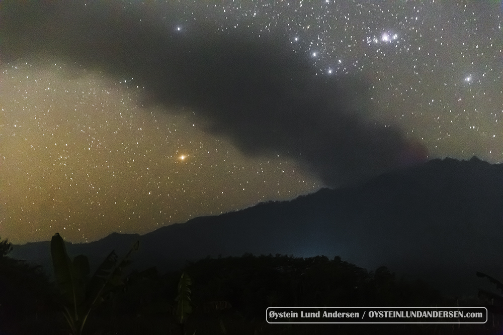 Raung Volcano Indonesia July 2015 Eruption