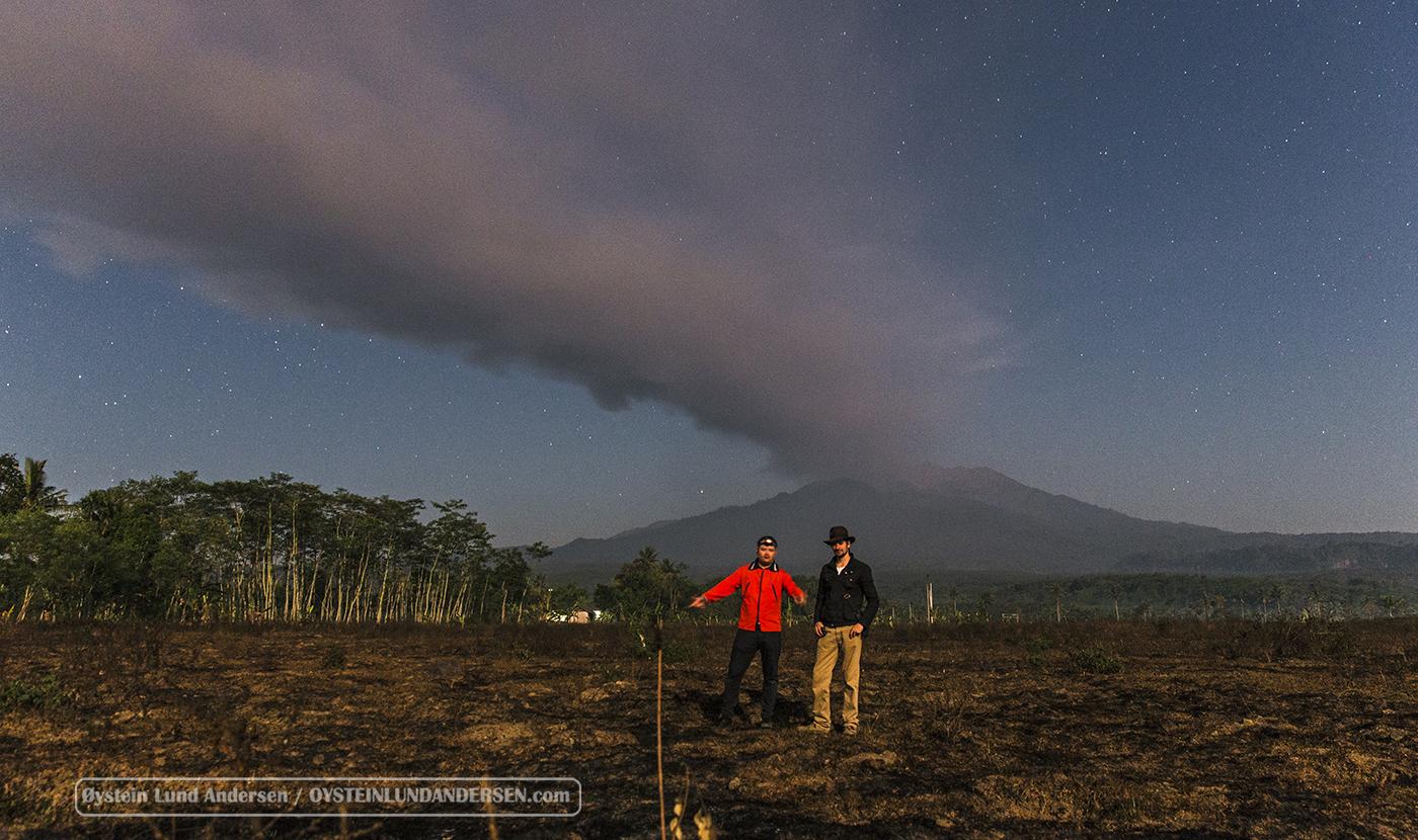Ronny Vedal Øystein Lund Andersen Raung Volcano 2015