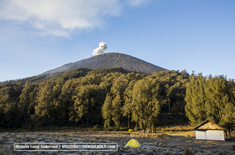 Semeru volcano August 2015 Eruption Kalimati