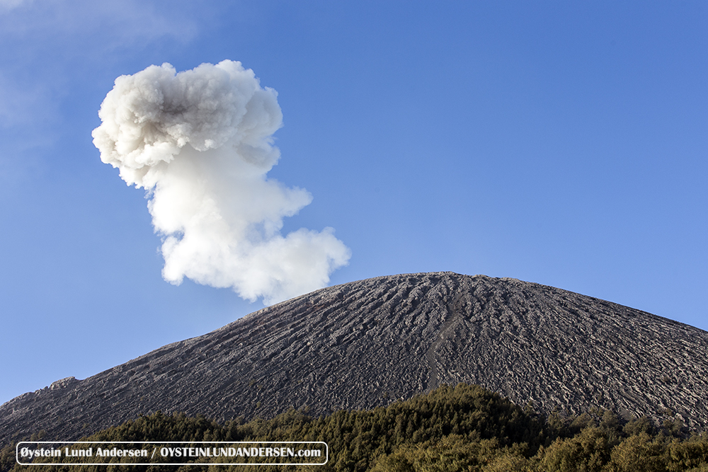 Semeru volcano August 2015 Eruption