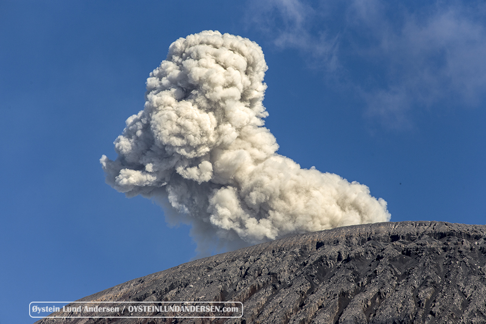 Semeru volcano July 2015 Eruption