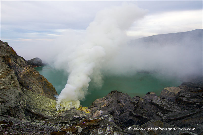 Ijen Volcano Indonesia 2012 East Java