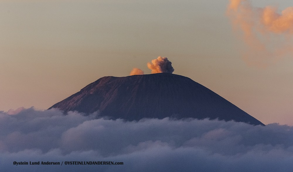 Semeru October 2015 Indonesia Volcano Volcanoes Java eruption