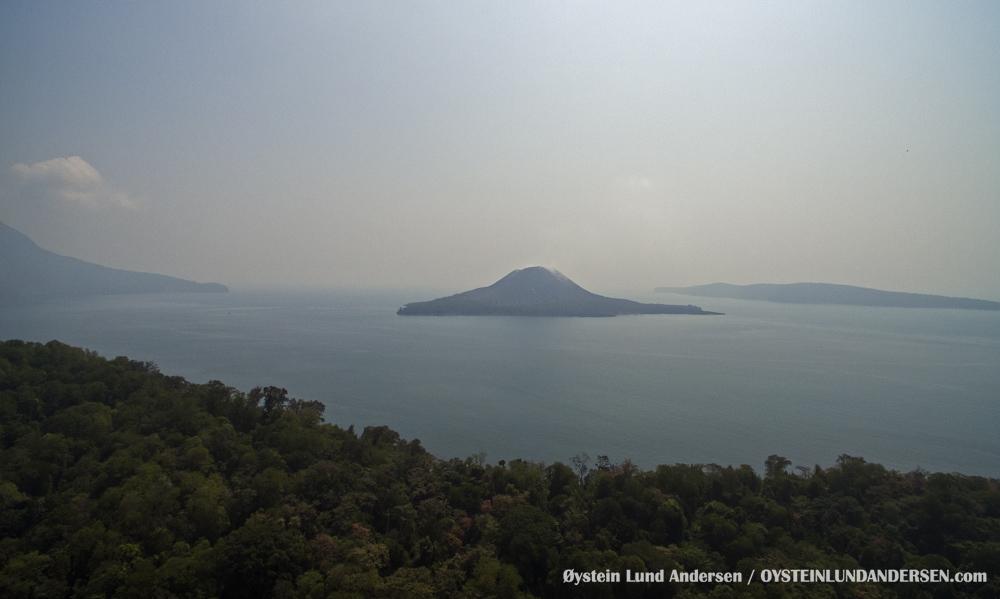 Krakatau, Krakatoa, Volcano, Java, 2015, aerial, photography, Verlaten