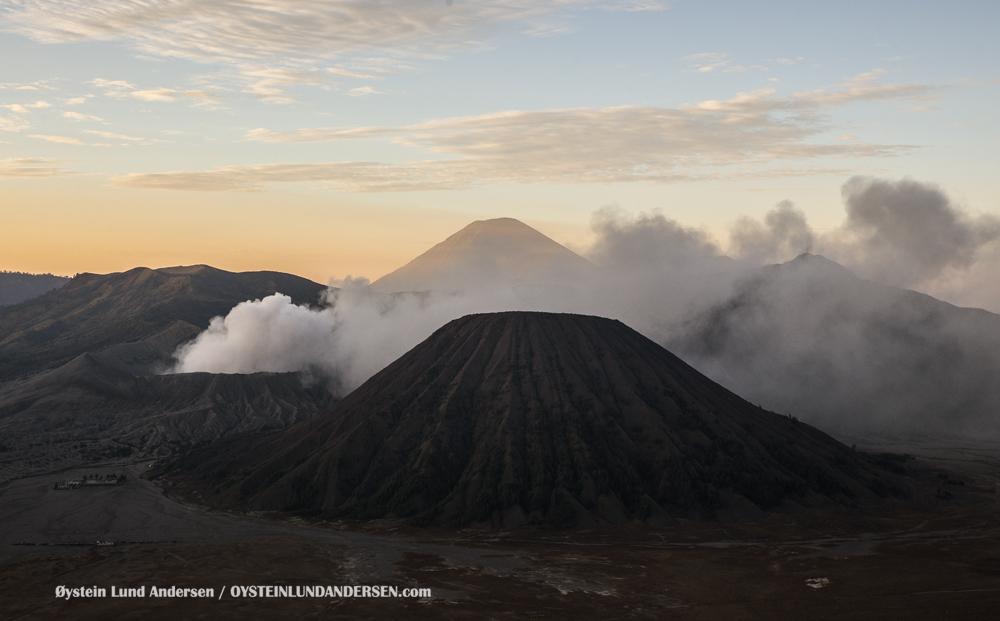 Bromo Volcano November-2015 Indonesia Tengger Caldera