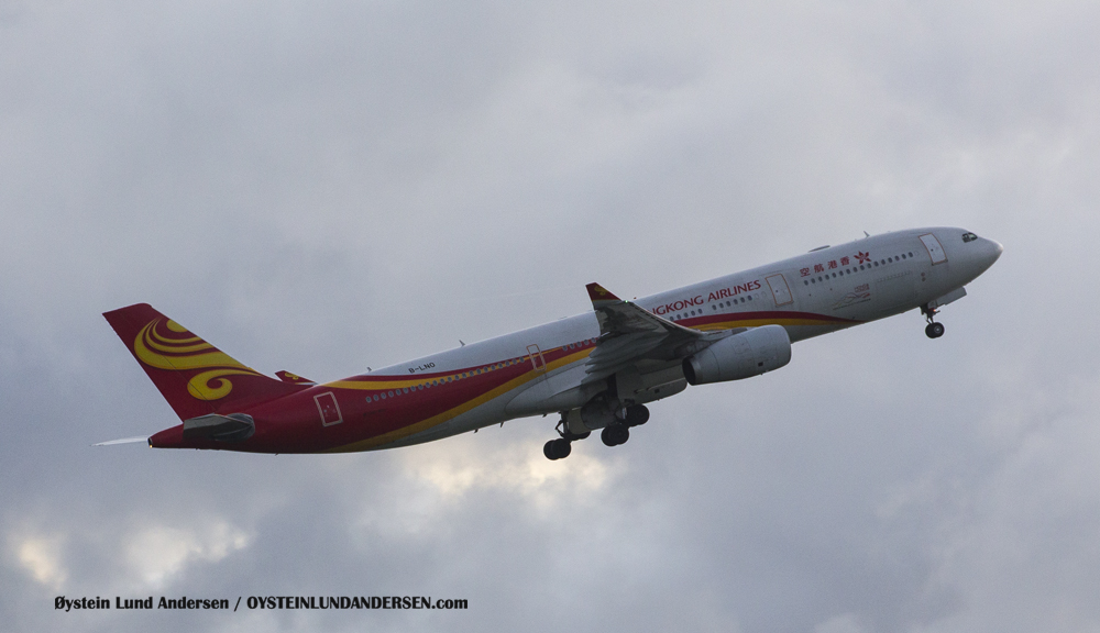 Hong Kong Airlines Airbus 330-200 departing