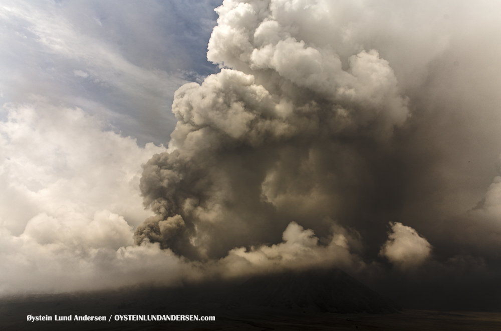 Bromo Eruption 2015 Indonesia ash