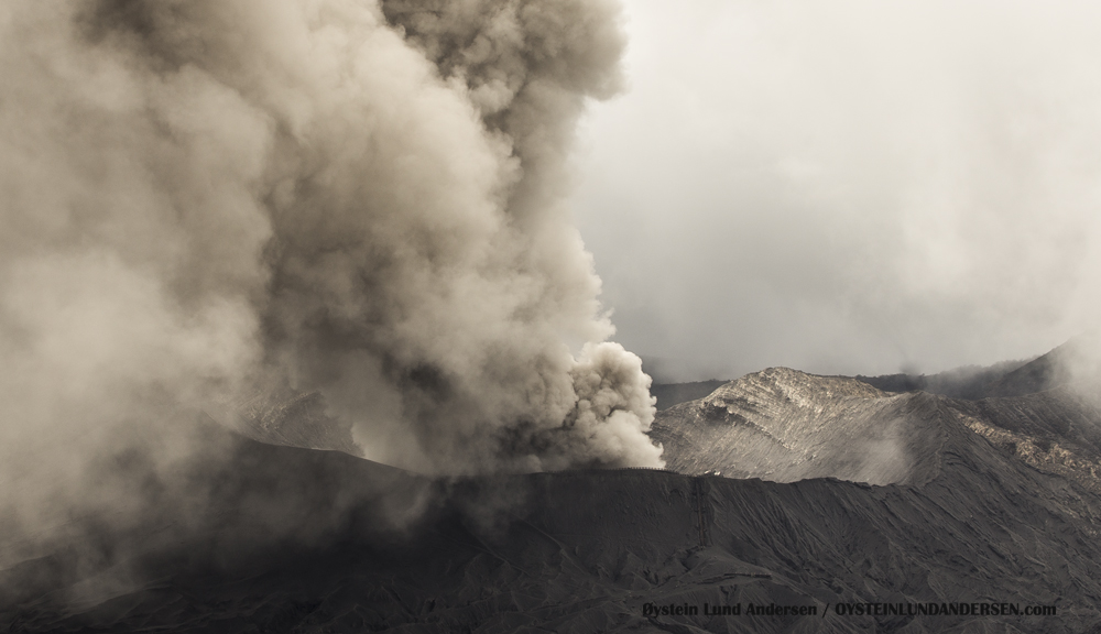 Bromo Volcano Eruption 2015 Indonesia ash lava