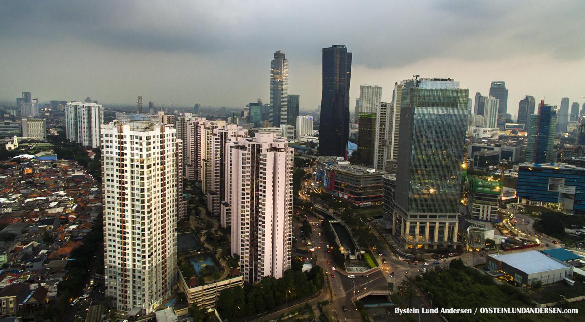 Aerial Rasuna Said jakarta 2016 Indonesia Central-Jakarta Bakrie