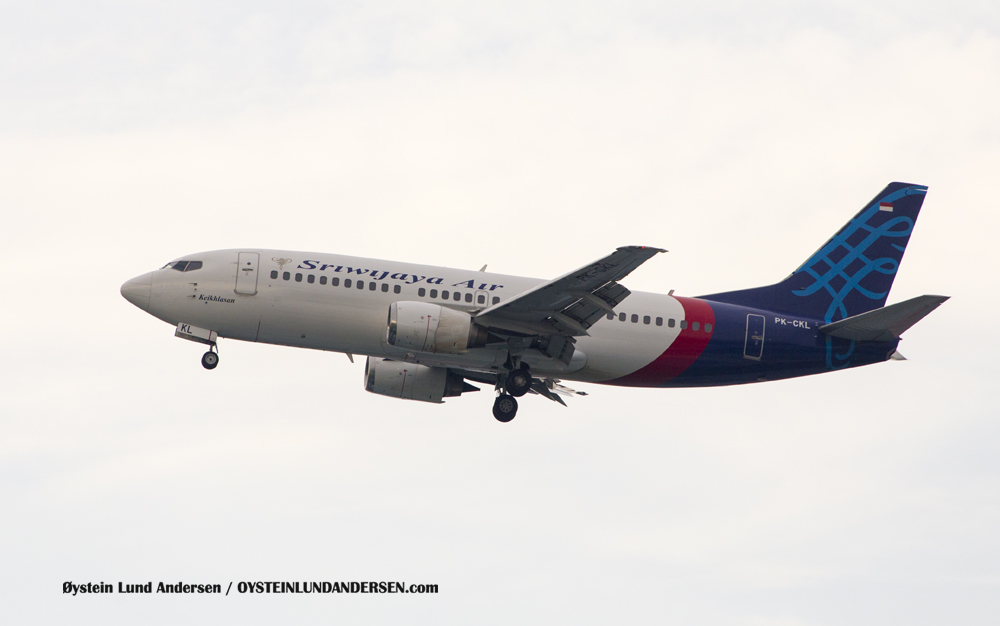 Sriwijaya Boeing 737-300 (PK-CKL) (15th February 2016)