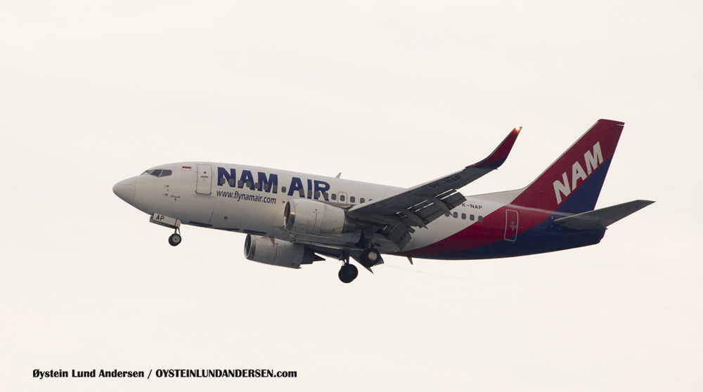 Nam Air Boeing 737-500 (PK-NAP) (15th February 2016)