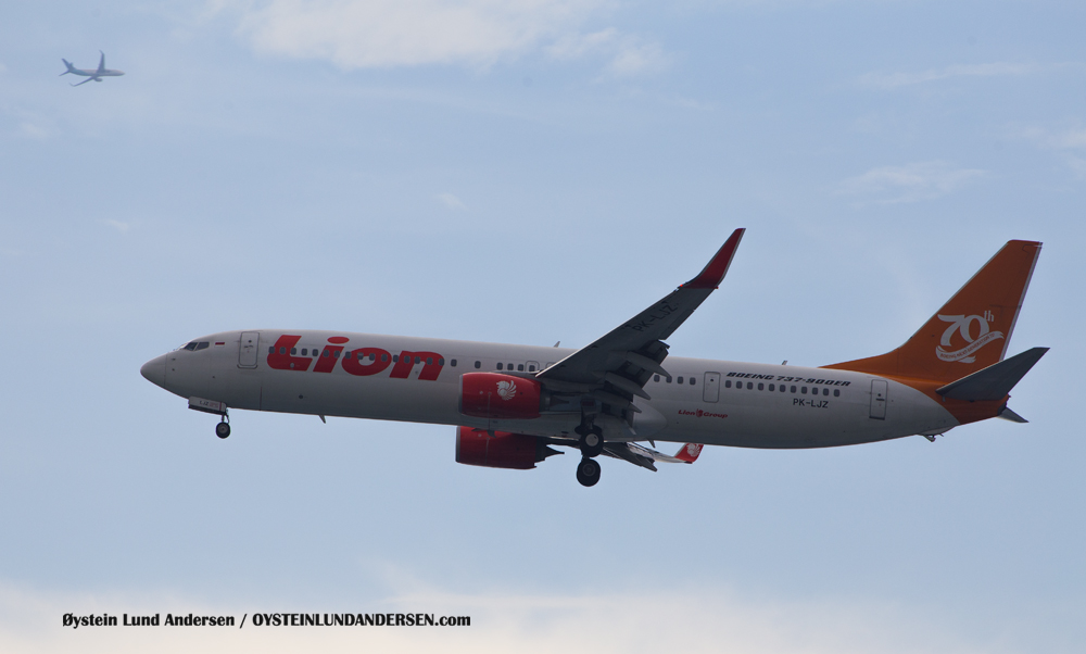 Lion Boeing 737-900ER (PK-LJZ) (15th February 2016)