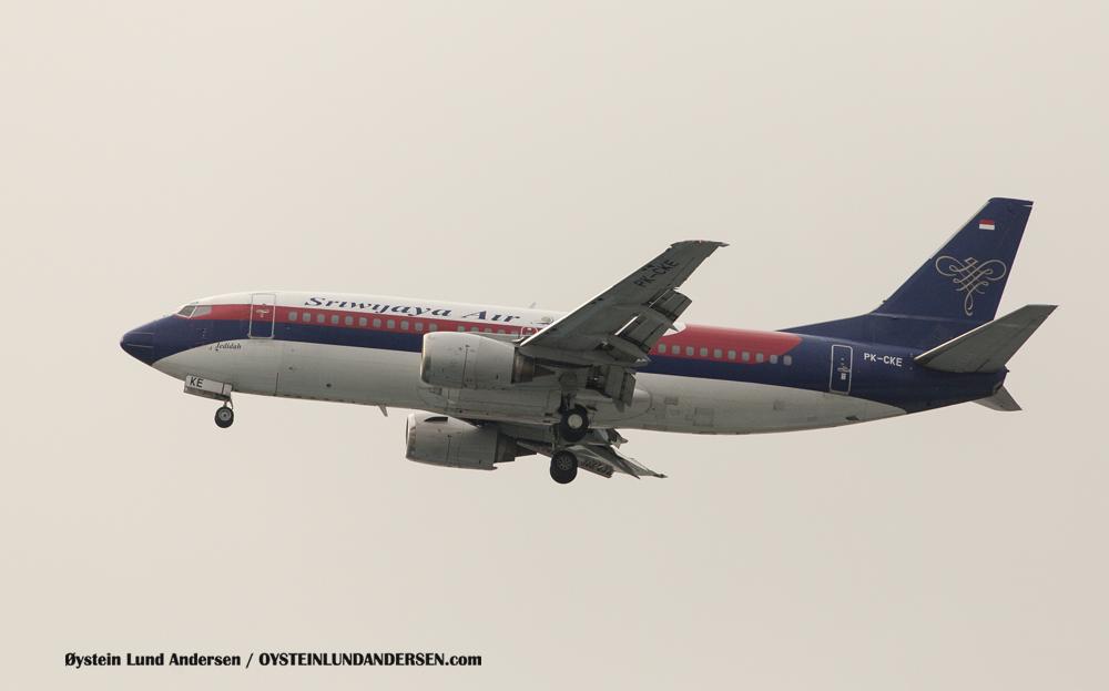 Sriwijaya Boeing 737-300 (PK-CKE)